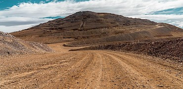 Lindero Deposit: Mine access roads
