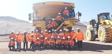 Mining fleet operator training