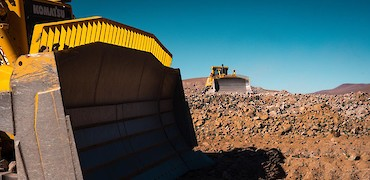 Mine development: Main ramp earthworks