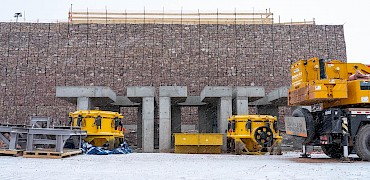 Secondary crusher – Crushers ready for mechanical installation