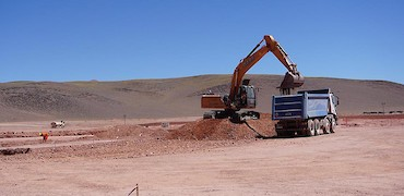 ADR plant earthworks