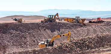 Primary crusher: Earthworks to access hopper