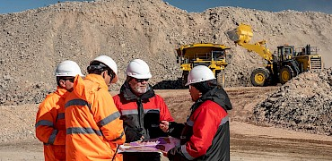 Mine platform development work