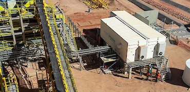 Agglomeration plant: Electrical installation work