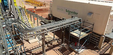 Agglomeration plant: Electrical installation