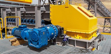Secondary crusher: Electrical installation