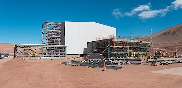 Panoramic view of ADR plant and gold refinery