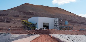 Panoramic view of ADR plant