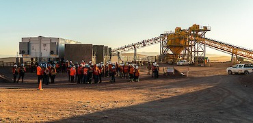 Tertiary crushing circuit: Pre-commissioning activities
