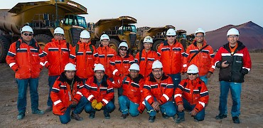 Lindero Project: Night shift mine fleet operators