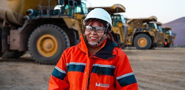 Lindero Project: Mine truck operator