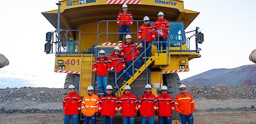 Lindero Project: Mine fleet operators
