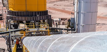 Agglomeration plant in ramp-up phase
